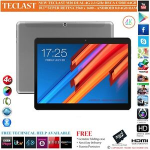 TECLAST-M20-4G-4GB-RAM-DECA-CORE-64GB-10-1-034-S-RETINA-8-0-ANDROID-PHONE-TABLET-PC