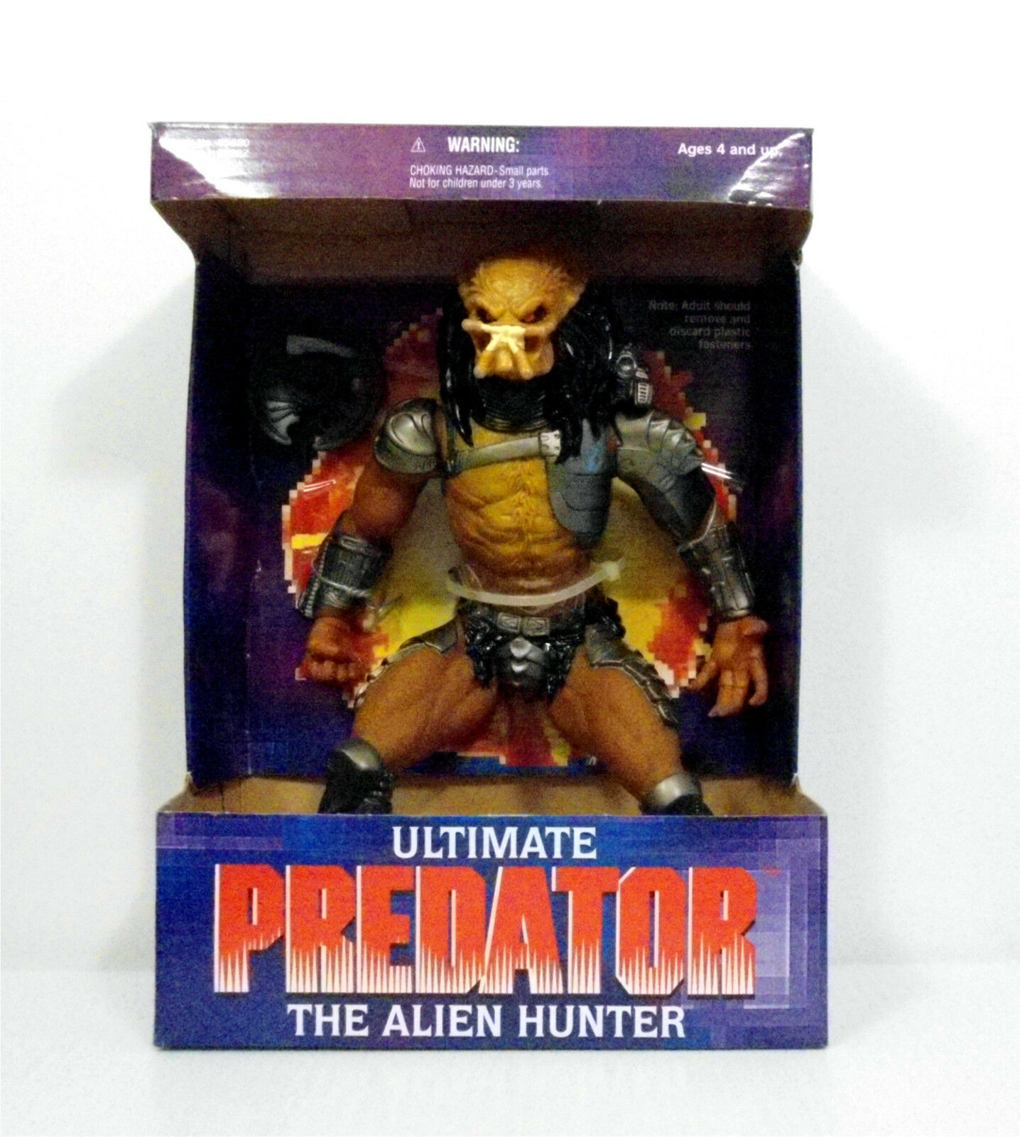 1995 Kenner Ultimate Predator Alien Hunter 10  Action Figure Mint