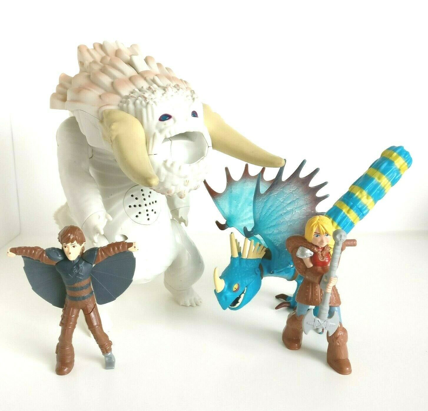 How To Train Your Dragon Valka's Good Bewilderbeast Dreamworks Set & Hiccup