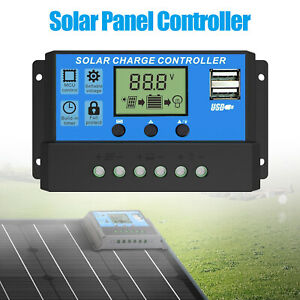 PWM-30A-Solar-Charge-Controller-12V-24V-LCD-Display-Dual-USB-Solar-Panel-Charger