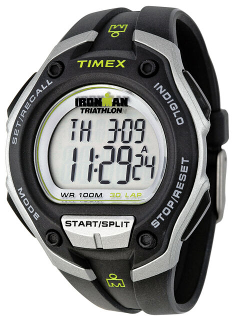 Timex Ironman Digital Quartz 30-Lap Recall Mens Watch T5K412
