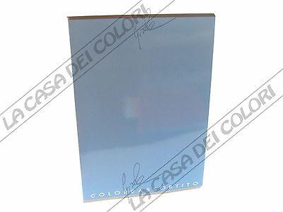 Top Quality - 1 Quaderno A4 Azzurro - Rigo 1r (riga 1 Cm Senza Margine)