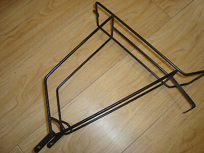 Retro rear cycle pannier rack steel traditional L/'eroica Tonard new old stock