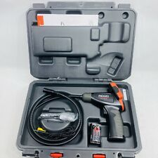 Ridgid Ca25 Micro Inspection Camera Inside Wall Plumbing Tools Lcd Screen