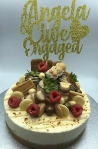 Custom-Cake-Topper-Engagement-Any-Names-Word-or-Colour-Personalised-Customised