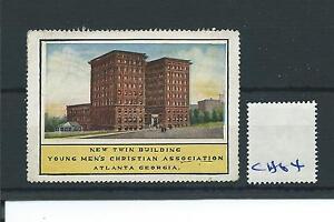 Details about wbc  - CINDERELLA/POSTER - CH64 - UNITED STATES - YMCA  BUILDING ATLANTA GEORGIA