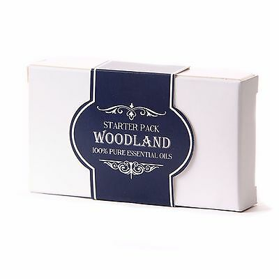 Mystic Moments | Essential Oil Starter Pack - Woodland (5 x 10ml) (SP10EOWOOD)