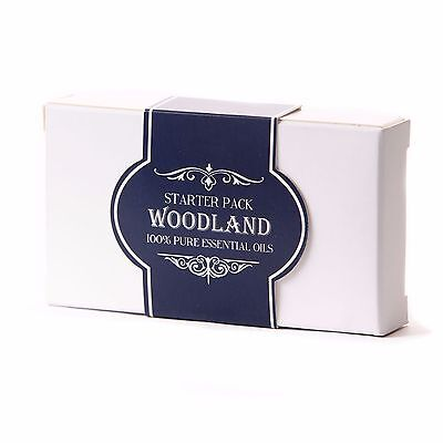 Essential Oil Starter Pack - Woodland (5 x 10ml) (SP10EOWOOD)