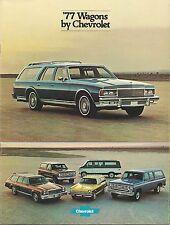Chevrolet Wagon, Estate  Dealers Brochures x5 1976 1977 1978 1979 1980