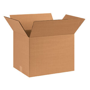 25 Small Book Cardboard Moving Shipping Boxes 16 x 12 x 12 FREE