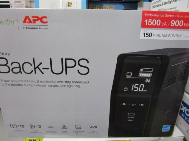 APC BN1500M2 1500VA Battery Backup & Surge Protector BRAND NEW