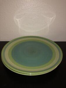 Gail-Pittman-039-Provence-039-Bands-Large-Dinner-Plates-11-25-Set-Of-2