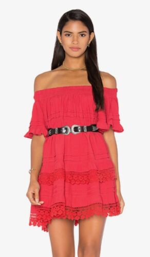 Revolve Ruffle Off The Shoulder Dress