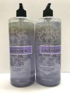 Lot-of-2-Archipelago-Botanicals-Lavender-Body-Wash-33-oz-958-ml-Older-Stocks