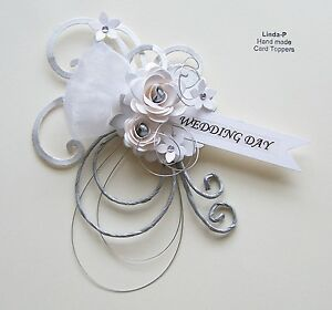 3D-WEDDING-DAY-CARD-CRAFT-TOPPER-EMBELLISHMENT-WED-DAY-1