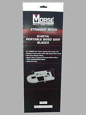 Mk Morse Zwep3224w 32 78 In X 24 Tpi Bi Metal Portable Band Saw Blade 3 Pk