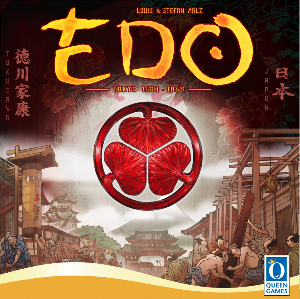 EDO Board Game - New Sealed - QUE60941