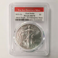 1oz First Strike 2021-S American Silver Eagle Coin MS70 Mississauga / Peel Region Toronto (GTA) Preview