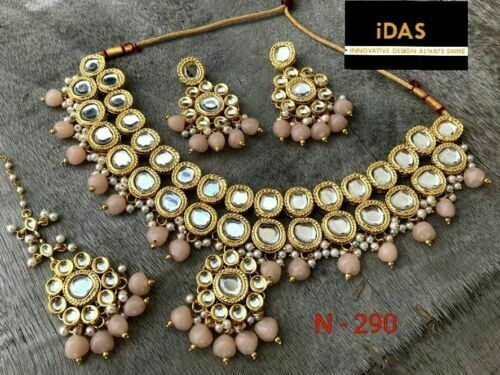 Banithani 18K plaqu/é Or Ethnic Bollywood Party Usure Chaine Pendentif Femmes Indiennes Bijoux