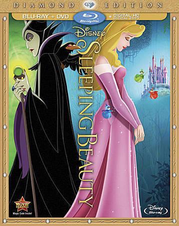 Sleeping Beauty Blu-ray/DVD, 2014, 2-Disc Set, Diamond Edition  - $0.99