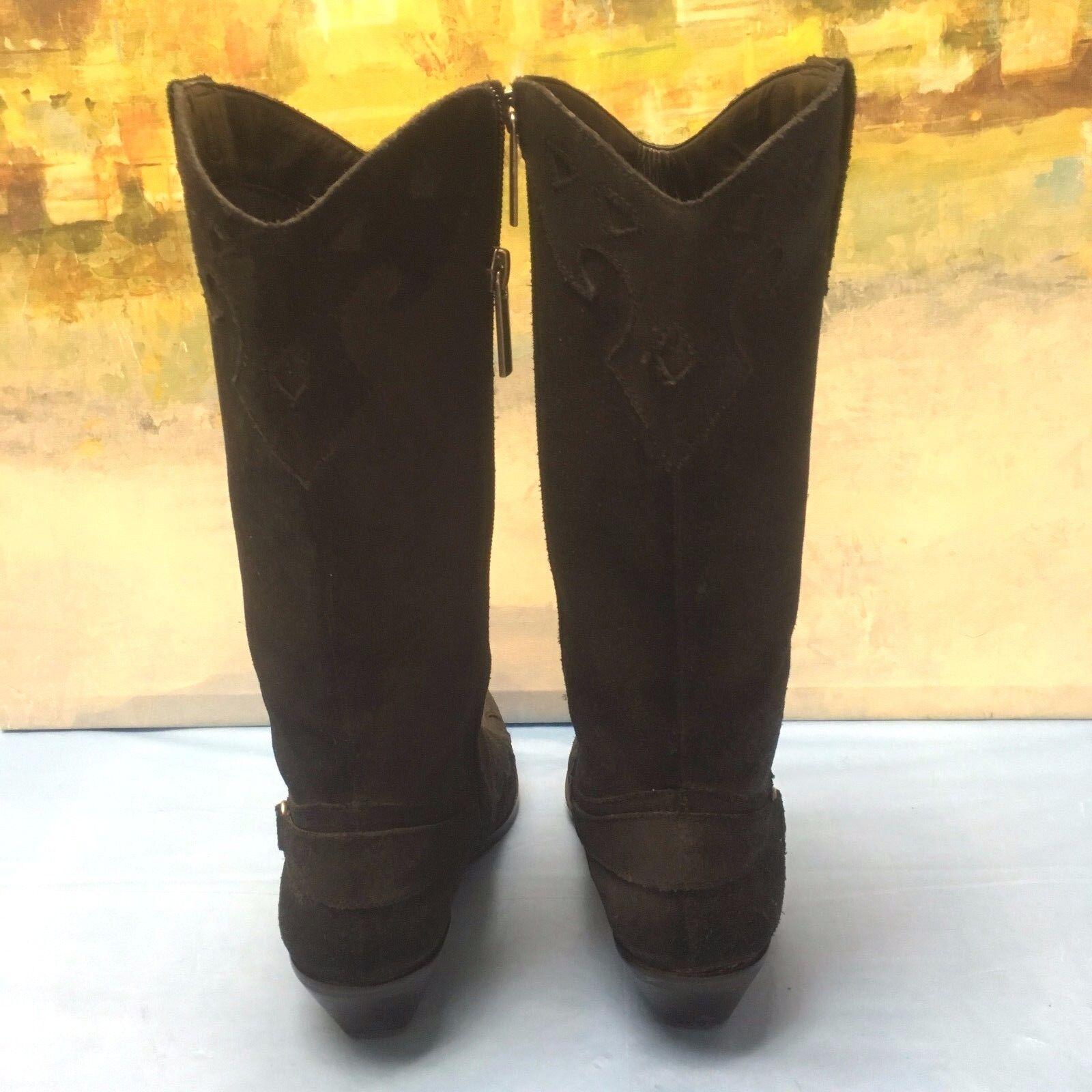 RELEA RELEA RELEA  LANCE BLACK COWGIRL WESTERN BOOTS SIZE 5.5M 428b1f