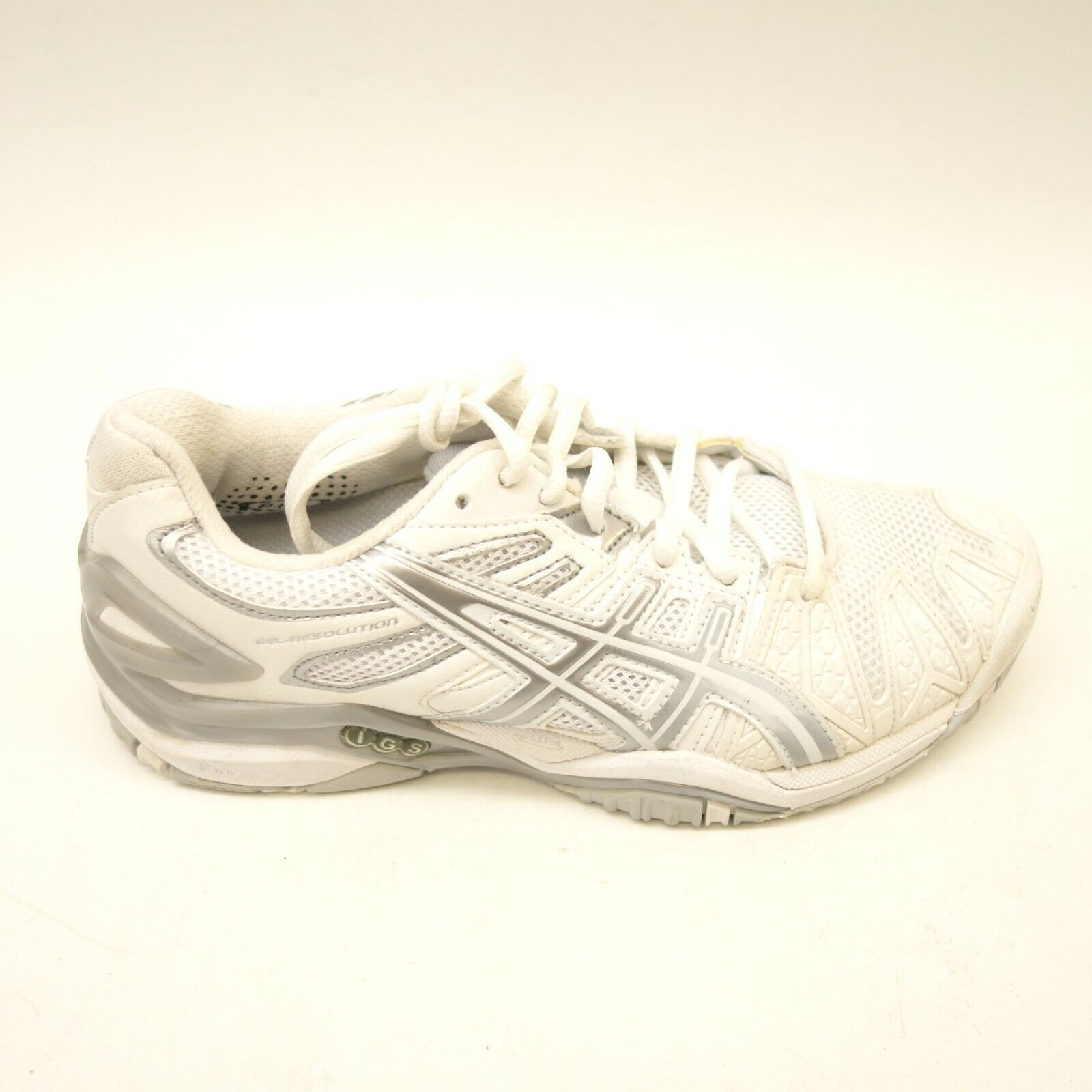 Asics Womens Gel-Game 7 White Athletic Running Cross Training shoes Sz 6