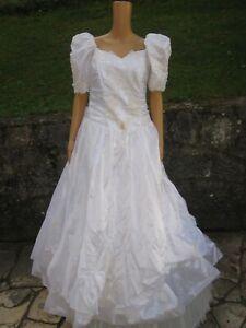 (B48)Edles Damen Braut Standesamt Abend Kleid GR: GR: 44 ...