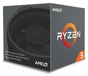 Cpu AMD Ryzen 5 2600x 4.25ghz 6 Core Socket Am4