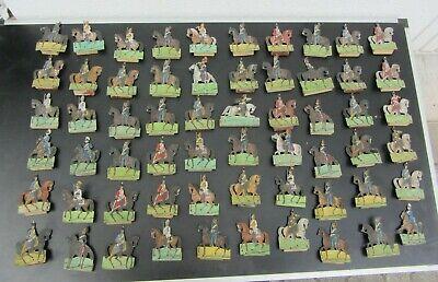 250 Austellfiguren Pappfiguren Militär Vor 1900 100% Garantie