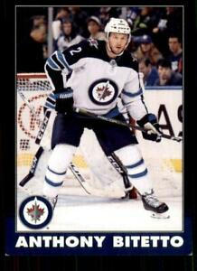 2020-21-UD-O-Pee-Chee-Retro-Black-Border-311-Anthony-Bitetto-100-Winnipeg-Jets