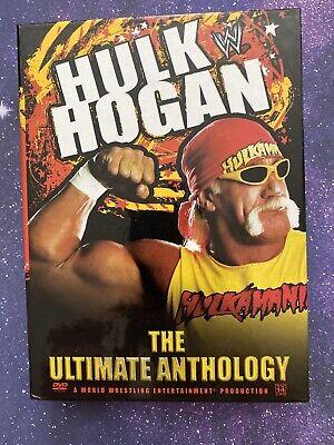 Hulk Hogan: The Ultimate Anthology DVD 4 Disc Set WWE WWF NXT AEW