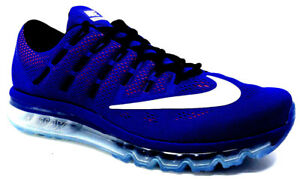 low priced b3f56 f8cce Image is loading Nike-Air-Max-2016-Mens-Sneaker-Concord-White-