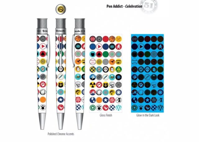 Retro 51 Rollerball / Pen The Pen Addict Celebration Limited Edition With Poster
