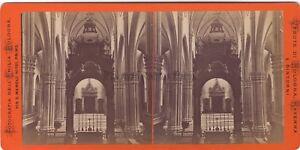 Bologna Italia Stereo Dell'Emilia Bologna Foto Albumina Ca 1880