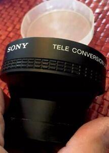 Details about Sony VCL-2046 Video 8 Tele Conversion Lens 2X ~ Bag&Leather  Case 46mm,EXC++,RARE