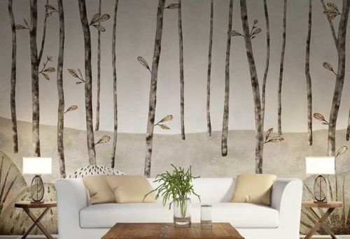 3D Branch leaves 892 WallPaper Murals Wall Print Decal Wall Deco AJ WALLPAPER