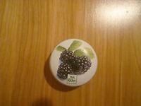 Yves Rocher Mure Parfum Creme Blackberry Soild Cream Perfume France Tin 0.24oz