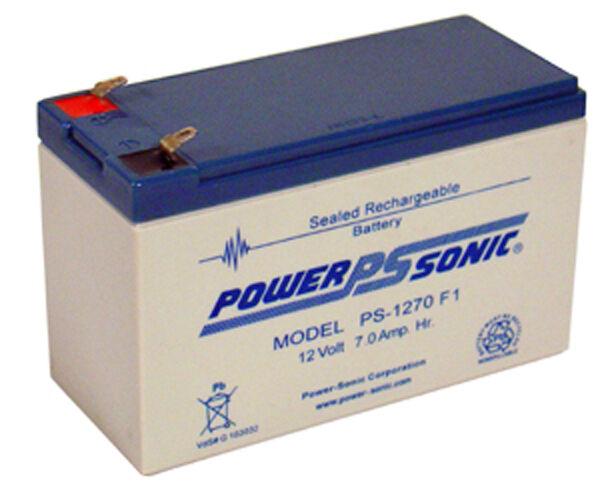 Pro F6C625 SLA, Sealed lead acid Batteries