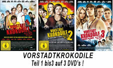 3 DVDs  * VORSTADTKROKODILE TEIL 1 - 3 im SET # NEU OVP =