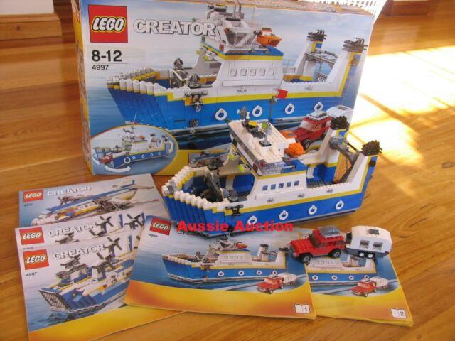 LEGO 4997 Creator - Transport Ferry [RARE]