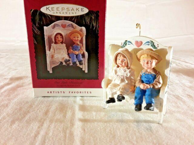 Our Little Blessings Artists/' Favorites Series 1995 Hallmark Keepsake Ornament