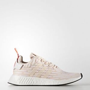 aee42d9b40f24 Womens Adidas NMD R2 W Pale Pink Cream Pink BA7260 Sizes  UK 7 7.5 ...