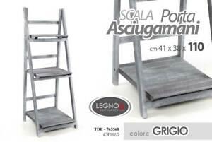 Mobile Porta Asciugamani.Mobile Scala Porta Asciugamani Bagno In Legno