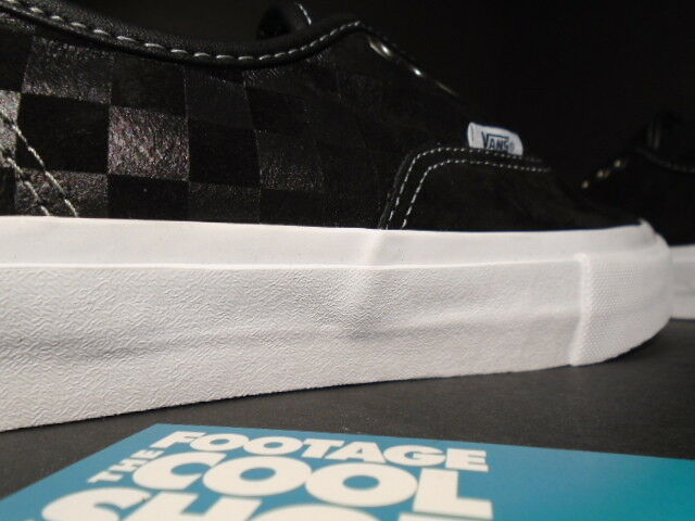 size 40 771a5 891f1 ... VANS VANS VANS AUTHENTIC 69 PRO S BLACK WHITE RED PULL TAB CHECKERBOARD  VN-0SDMBA2 ...
