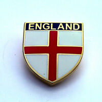 ENGLAND SHIELD LAPEL BADGE - England Flag. Pin, Patriotic, Cross of St George