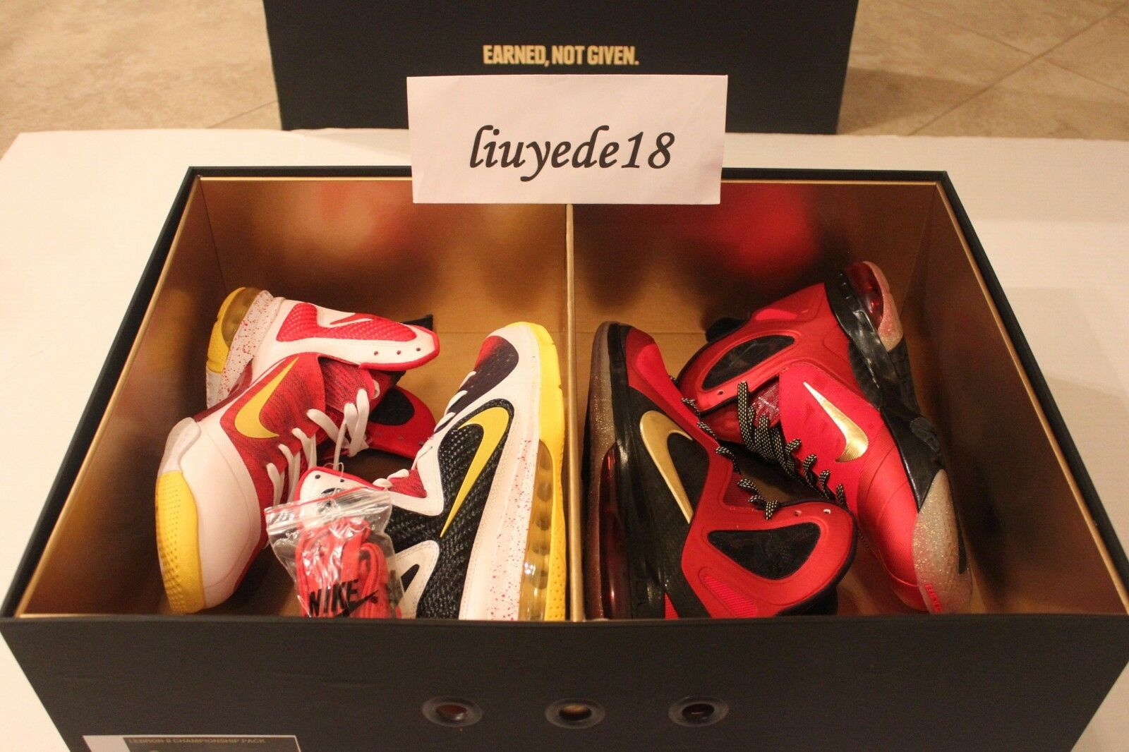 Lebron 9 championship pack IX MVP Comfortable Special limited time