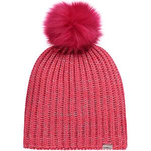 Mädchen-accessoires O'neill Beanie Mütze Bg Girls Lilly Beanie Pink Unifarben Fellbommel