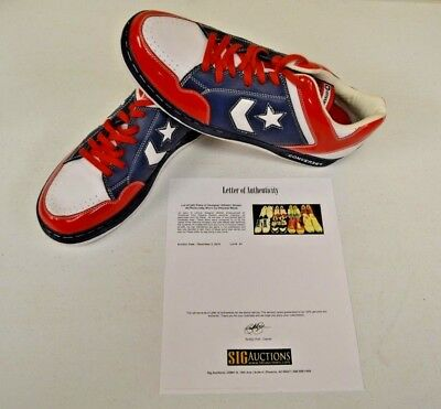 competitive price 3c3c0 9b7f4 Converse Weapon Basketball Puerto Rico 14 DWAYNE WADE Personal Shoes w COA   7
