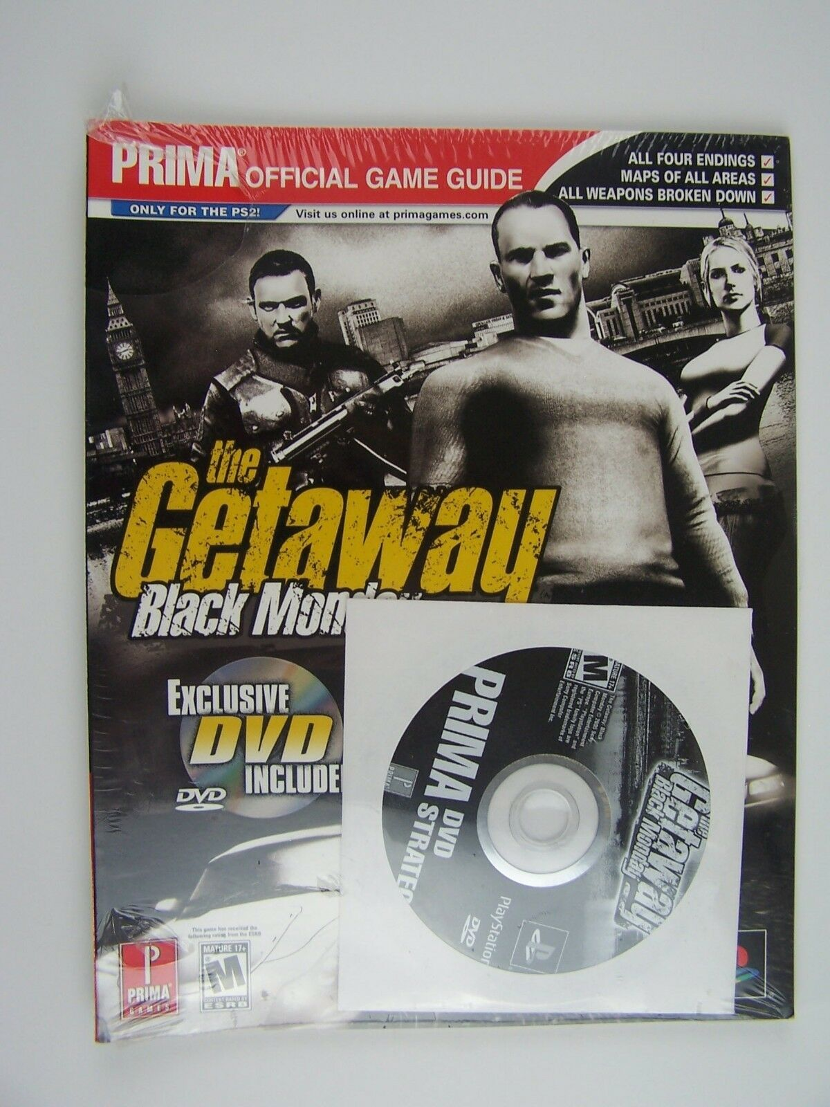 The Getaway Black Monday Prima Official Game Guide Pape
