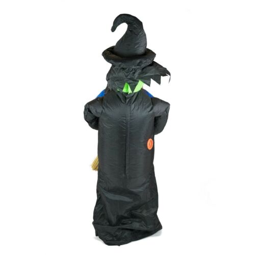 Kids Inflatable Scary Witch Wicked Old Hag Funny Halloween Fancy Dress Costume